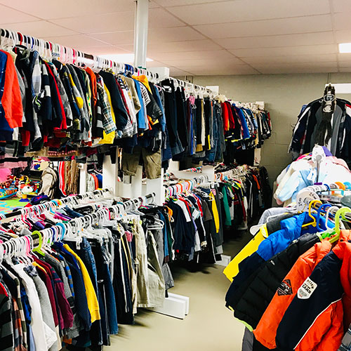 Lots of clothing from sizes preemie to adult 3XL